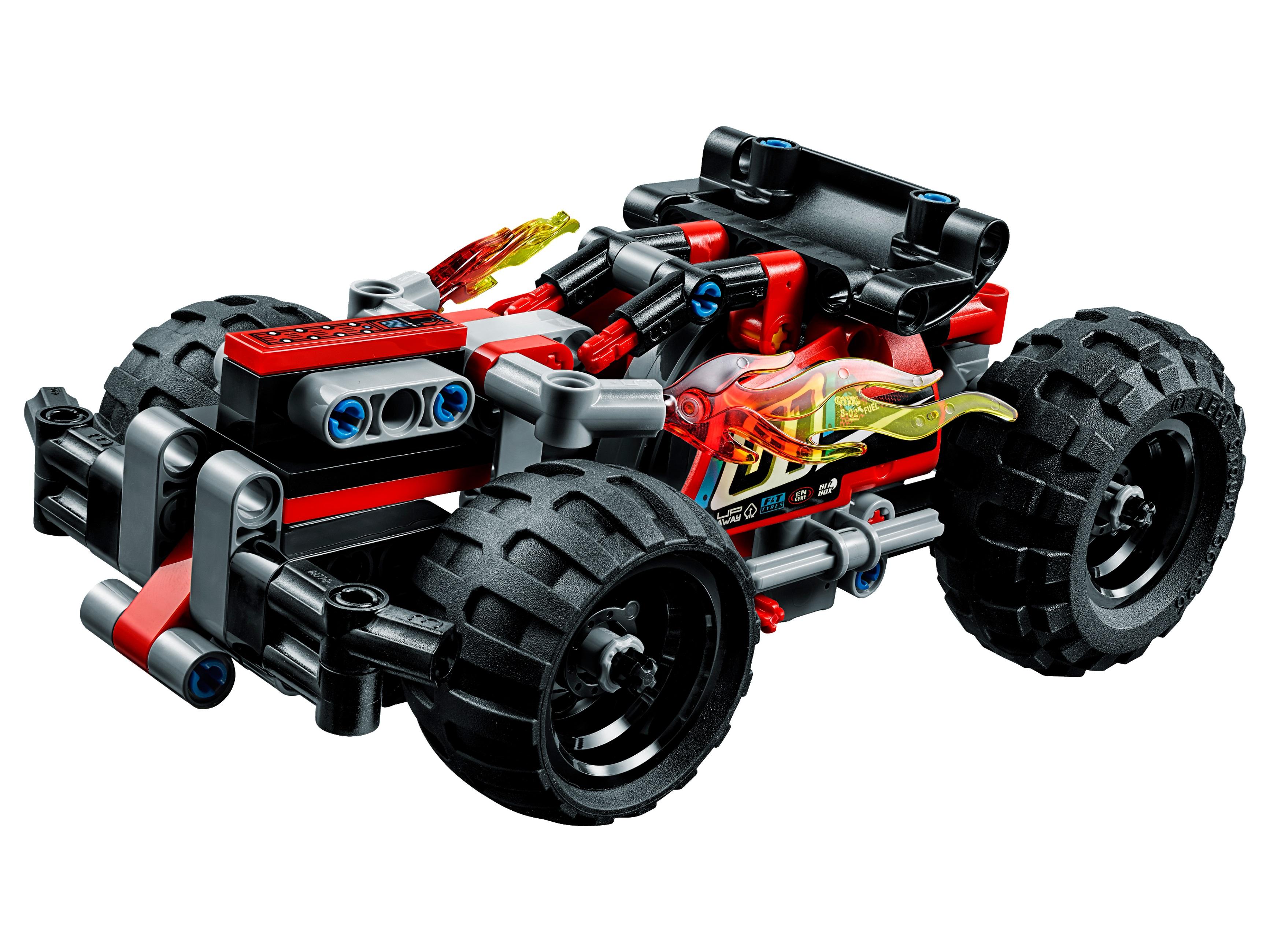 Конструктор lego technic 42073 красный гоночный автомобиль