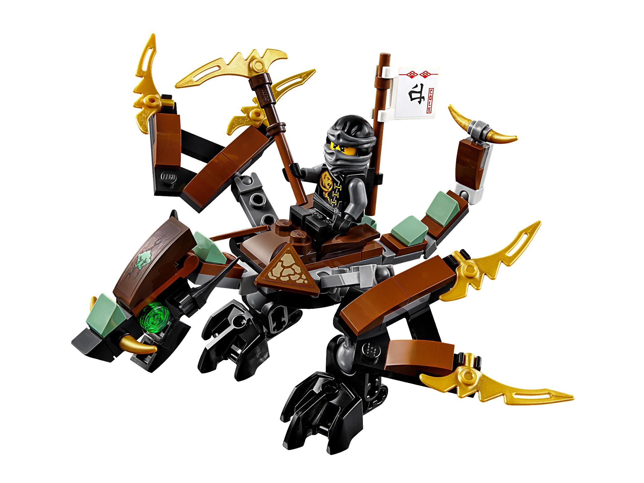 Конструктор лего ниндзяго дракон