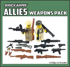 BrickArms bawk01-1 Allies Weapons Pack