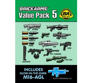 BrickArms bawk22-1 Value Pack 5