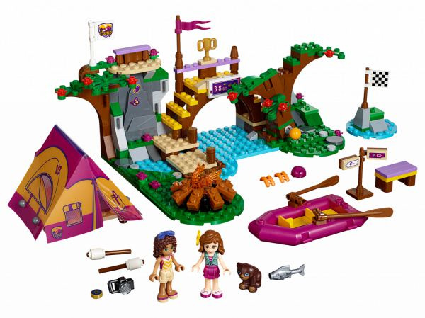 Lego 41121 Friends Спортивный лагерь: сплав по реке