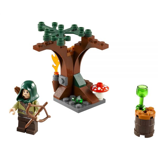 Lego 30212 Lord of the Rings Эльф-Страж Лихолесья Mirkwood Elf Guard