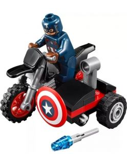 Lego 30447 Super Heroes Captain America's Motorcycle