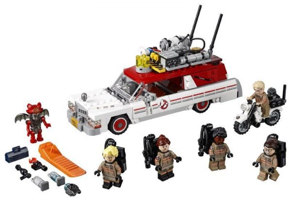 Lego 75828 Ghostbusters Ecto-1 and Ecto-2