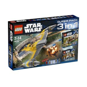 Lego 66396 Star Wars SUPER PACK 3 IN 1
