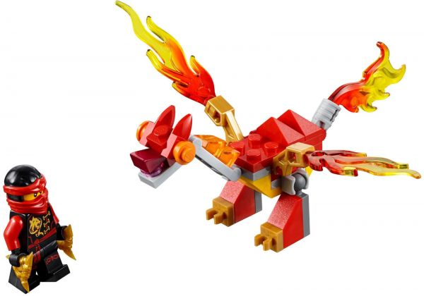 Lego 30422 NinjaGo Kai's Mini Dragon