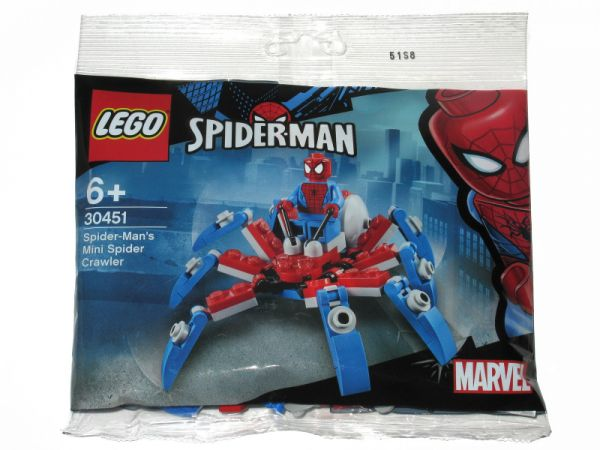 Lego 30451 Super Heroes Spider-Man's Mini Spider Crawler