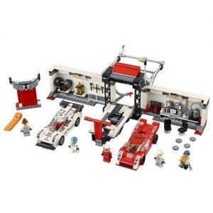Lego 75876 Speed Champions Porsche 919 Hybrid and 917K Pit Lane