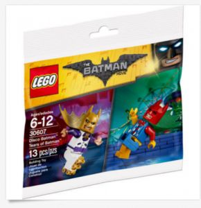 Lego 30607 Batman Movie  Disco Batman Tears of Batman