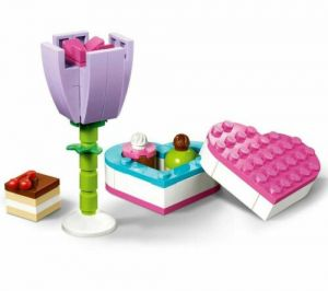 Lego 30411 Friends Chocolate Box and Flower