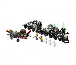 Lego 9467 Monster Fighters Поезд-призрак